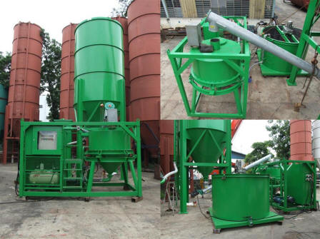 Updated Jet Grouting Tunneling Grout Mixing Plant